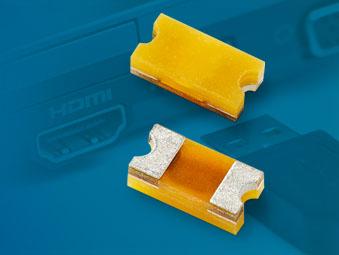 Littelfuse宣布推出新型ESD抑制器系列,保护敏感电子设备免受不超过30kV破坏性放电的损坏