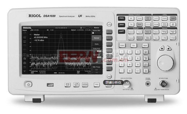 频谱分析仪原理