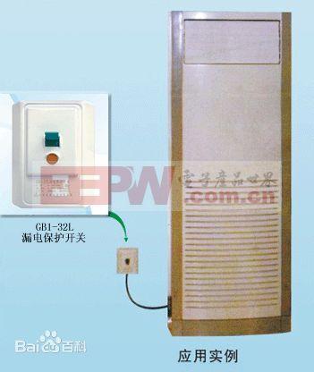 漏电保护开关的动作原理是:在一个铁芯上有两个组