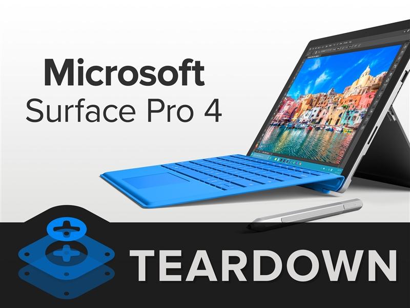 Surface Pro 4完全拆解:坏了就真死了