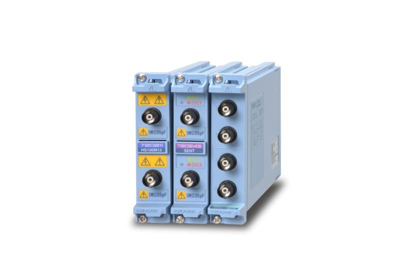 横河发布示波记录仪DL850E/DL850EV全新模块