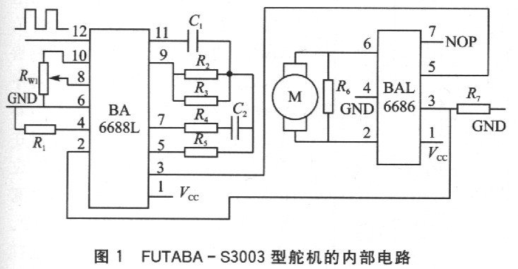 AT89C2051多路舵机控制电路详解