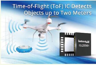 Intersil的信号处理IC可实现2米精准感测,适合无人机等应用