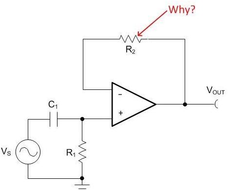 缓冲器反馈路径中的电阻器:问问为什么!