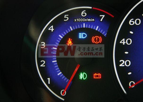 转速表原理  转速表将接收的数字脉冲信号(由传感器发出的),处理后