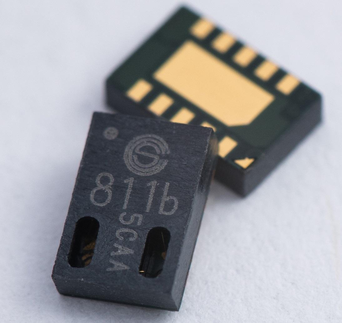 Cambridge CMOS Sensors推出数字气体传感器CCS811