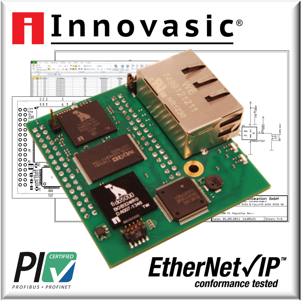 Innovasic的RapID平台通过最新的以太网/IP协议以及PROFINET一致性测试套件的测试
