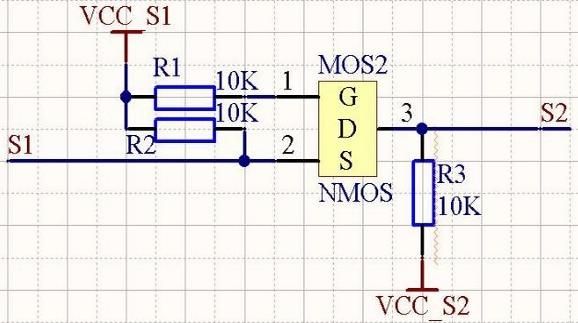 一种简单实用的双向电平转换电路(非常实用!)3.3V--5V