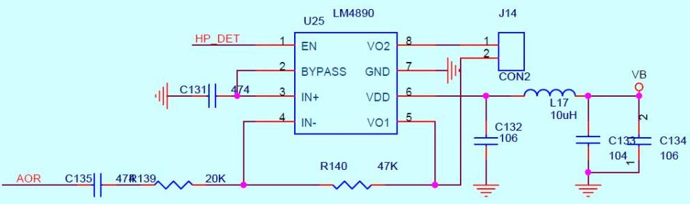 LM4890功放电路的分析