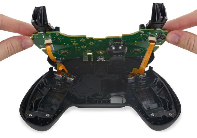 Steam手柄拆解:模块化设计闭着眼都能修