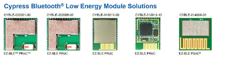赛普拉斯在CES展上推出全新蓝牙低功耗模块,并演示蓝牙智能网状网络(Smart Mesh)解决方案