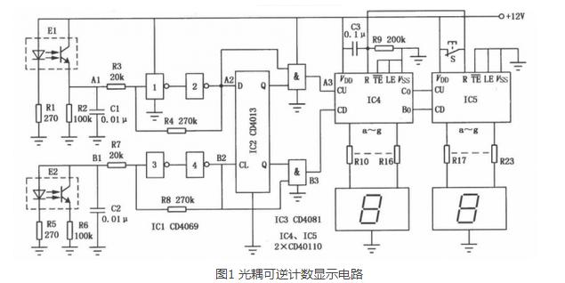 两种新手必看的光耦合器电路设计图