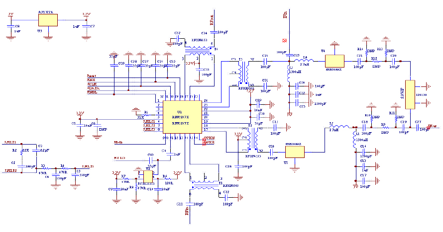 基于RFFC2071的变频器设计