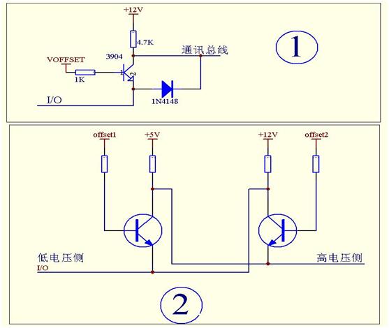 【E电路】两种简易的低成本双向的逻辑电平转化电路