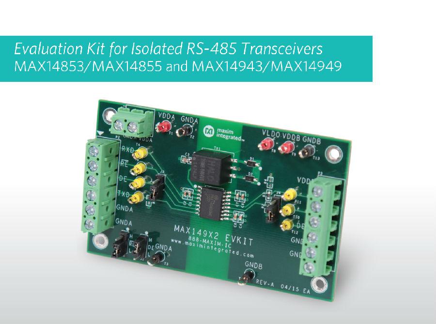可靠的隔离RS-485收发器系列,内置变压器驱动器和LDO有效简化设计