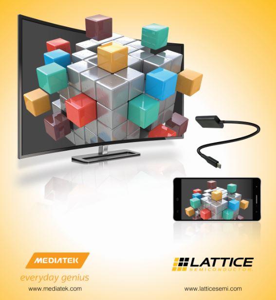 莱迪思半导体和MediaTek携手推出全球能效最佳的USB Type-C 4K视频解决方案