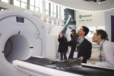 """明峰医疗研制PET-CT设备浙江""""智造""""领跑高端诊断设备领域"""