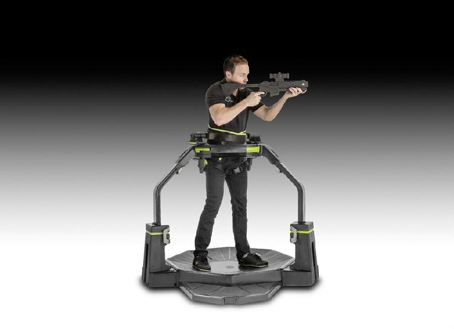 """蓝牙智能可穿戴产品传感器在""""主动虚拟现实""""游戏平台上提供360°无线运动自由度"""