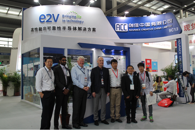 e2v和创佳中国联合参加第87届中国电子展