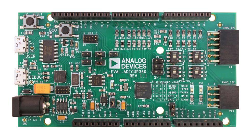 e络盟供应Analog Devices EVAL-ADICUP360评估板 助力高精度模拟应用开发