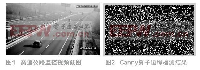 高速公路目標邊緣檢測的算法對比分析