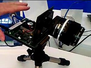 PYTHON5000:CMOS图象传感器演示