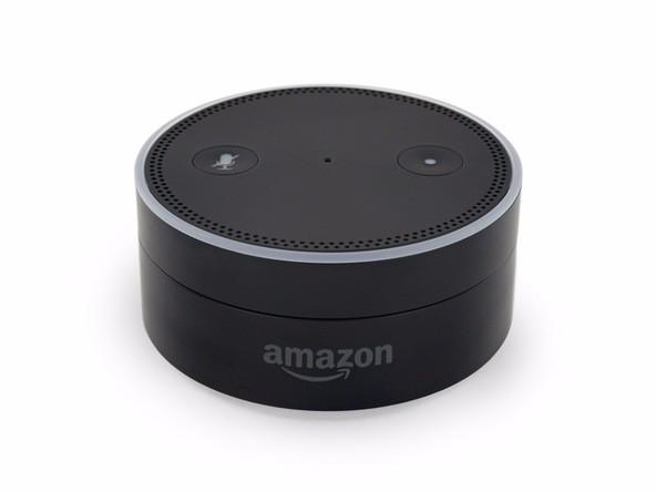 Amazon Echo Dot智能蓝牙音箱拆解图赏