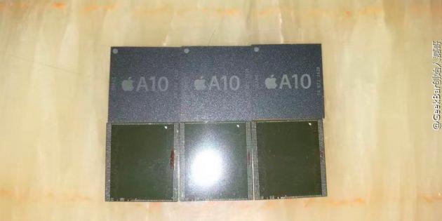苹果A10处理器谍照外泄 细节还不明朗