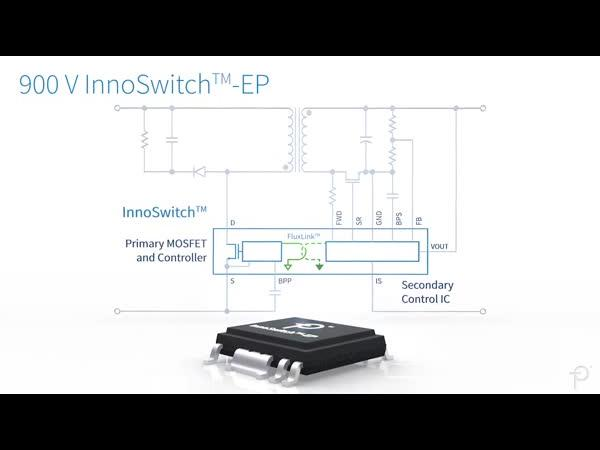 InnoSwitch-EP for 900 V Applications