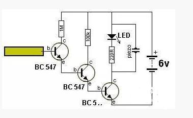 三个最简单的三极管放大电路