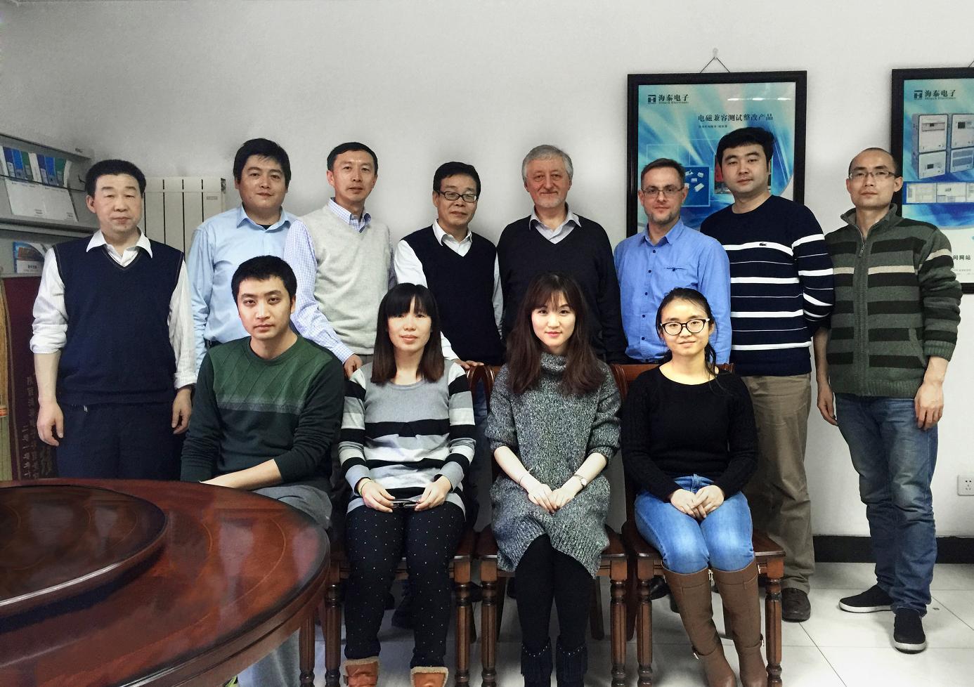 海泰电子与白俄罗斯国立信息和无线电电子大学签署国际合作合同