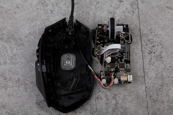 雷柏V910 MMO激光游戏鼠标拆解评测