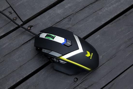 雷柏V910 MMO激光游戏鼠标拆解