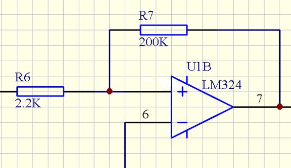 电压跟随器电路图与比例放大器电路图区别