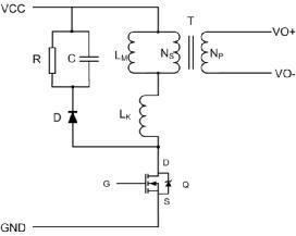 认识反激中的RCD吸收电路