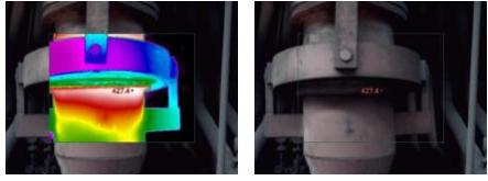 手持式红外热像仪应用于检测高炉送风支管