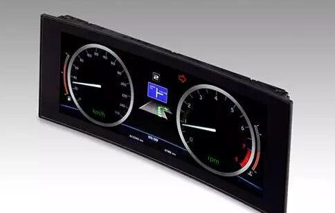 JDI车用曲面数字仪表板量产出货