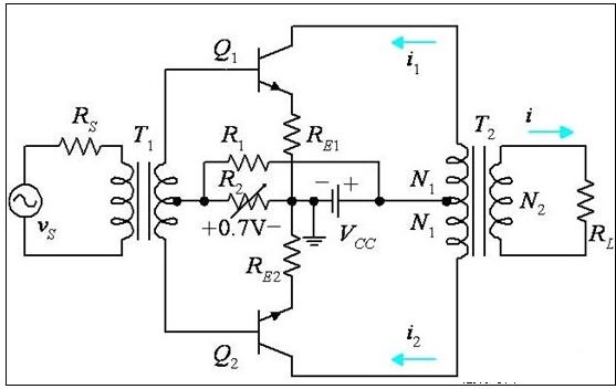 ab类功放电路解析及ab类功放与d类功放的区别对比分析
