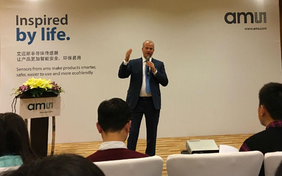 艾迈斯半导体CEO:未来每个应用背后都有传感器!