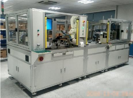 泛华测控再次成功交付防夹电机自动装配测试设备