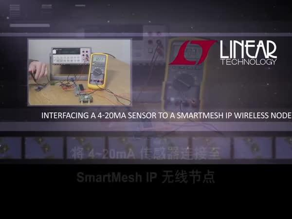 将 4~20mA 传感器连接至 SmartMesh IP 无线节点