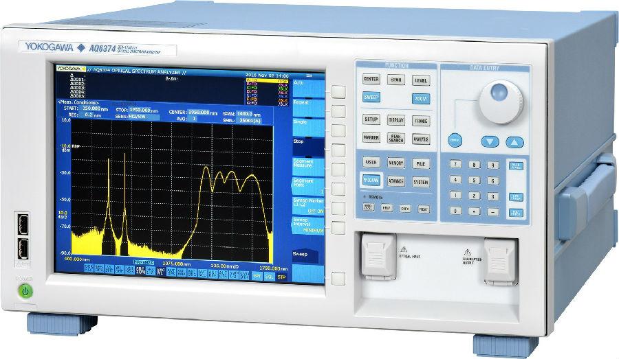 横河发布最新AQ6374光谱分析仪