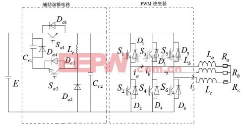 串并联谐振软开关逆变器辅助电路的优化