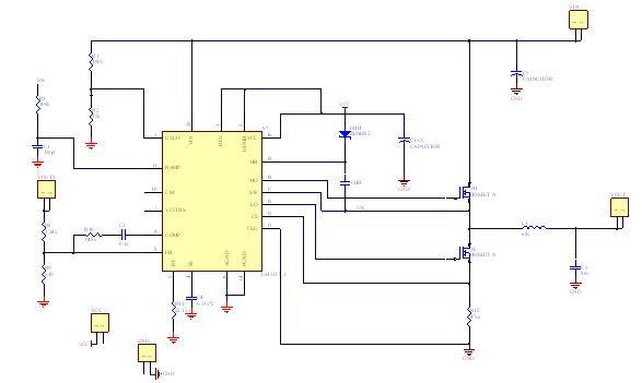 基于LM5117降压型直流开关稳压电源设计