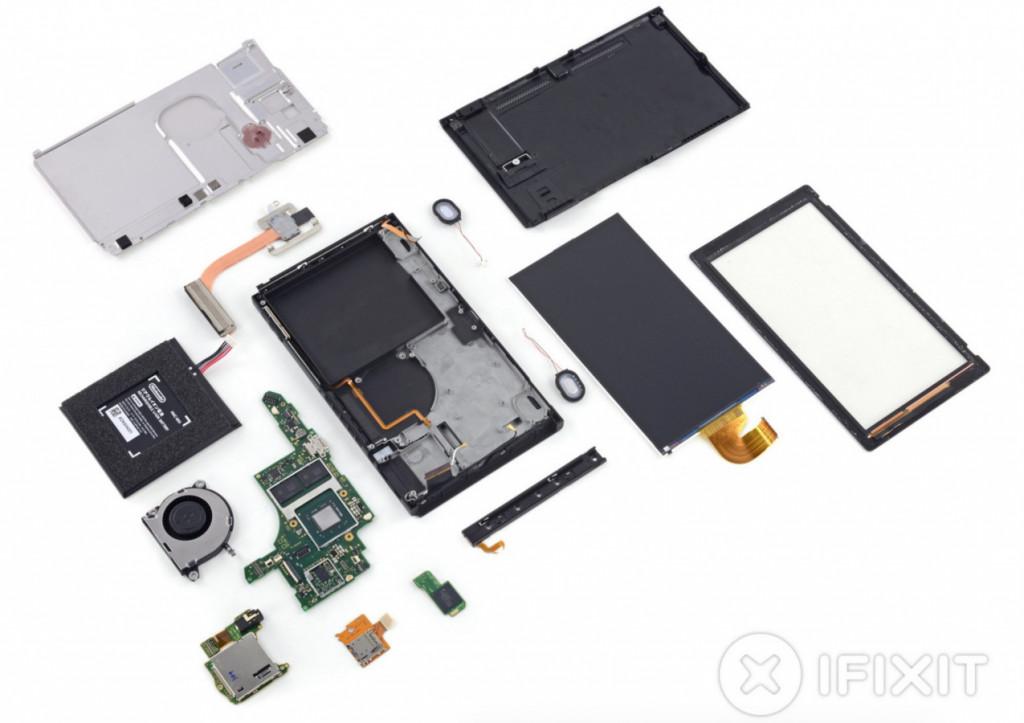 任天堂Switch主机开卖,iFixit 就拆解它并给出维修分数为 8 分