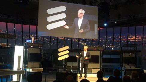 """爱立信头戴""""5G光环"""" CEO:这不仅仅是一个概念"""