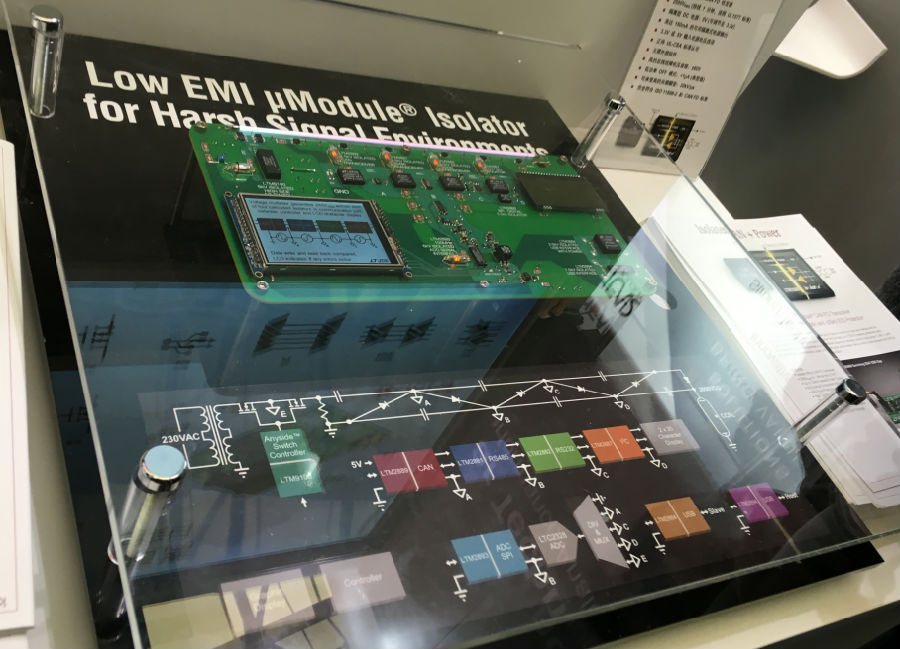 Linear的μModule隔离器及100V多拓扑控制器