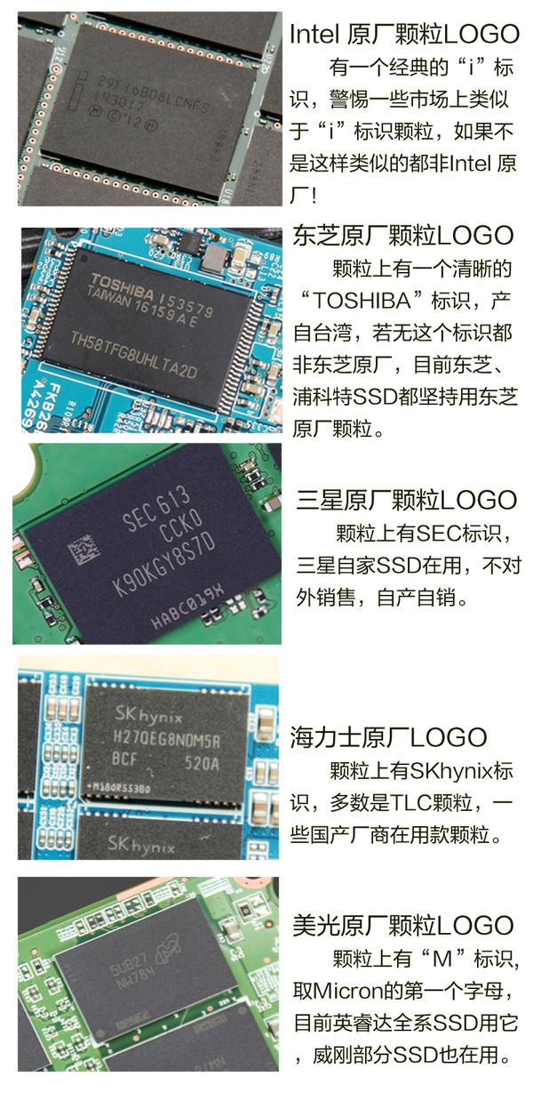 选SSD就是选闪存颗粒!全面解析原片/白片/黑片