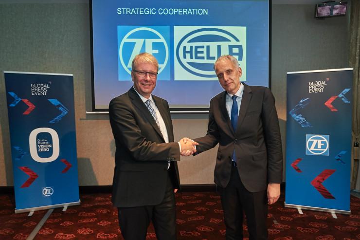 采埃孚与海拉就自动驾驶传感器业务达成战略合作