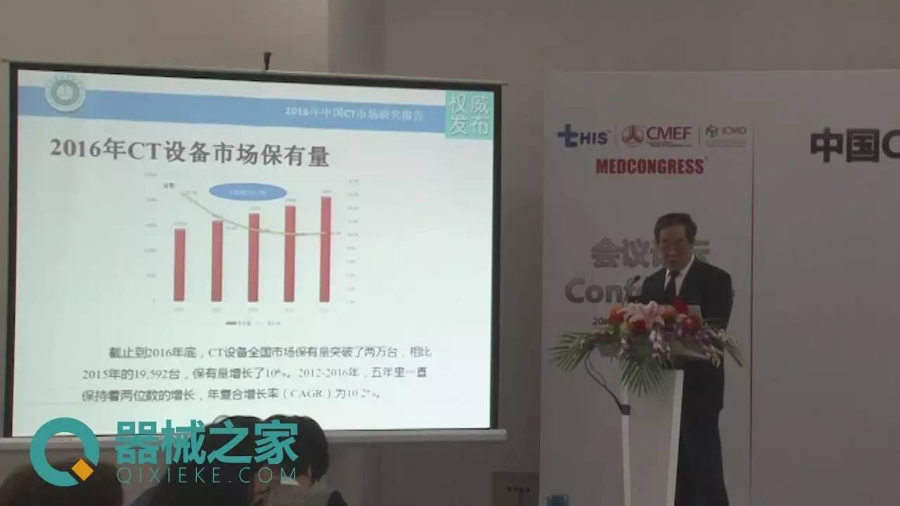 CT市场稳健增长:国产医疗器械增速快